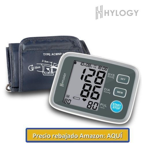 esfigmomanómetro de brazo hylogy