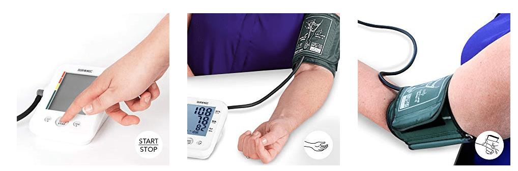 como se usa el tensiometro duronic 150